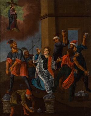 Избиение камнями святого Степаноса