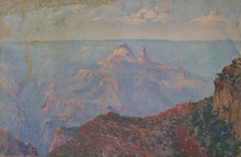 Большой Каньон Колорадо 1920