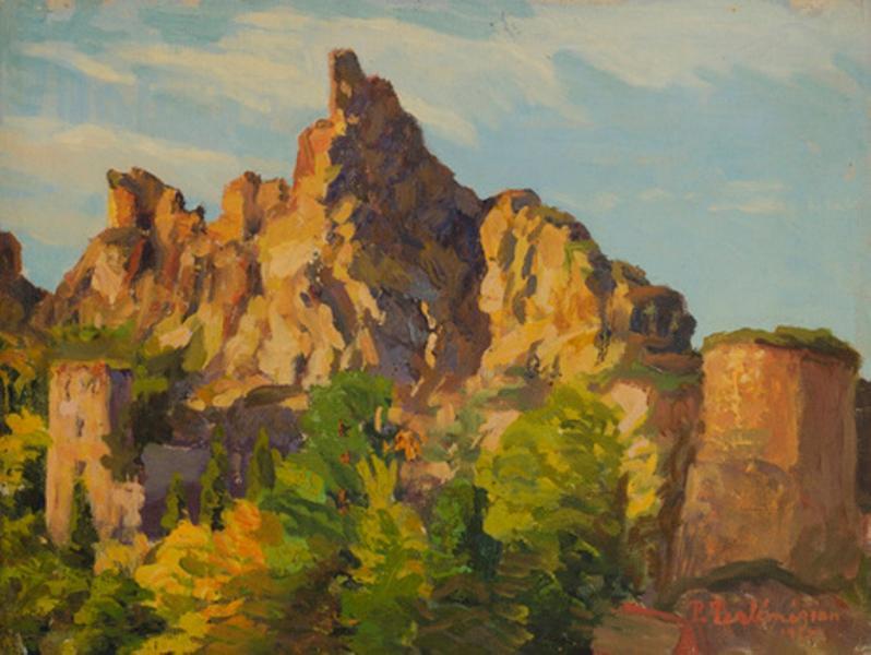 Скалы, солнечный день 1915