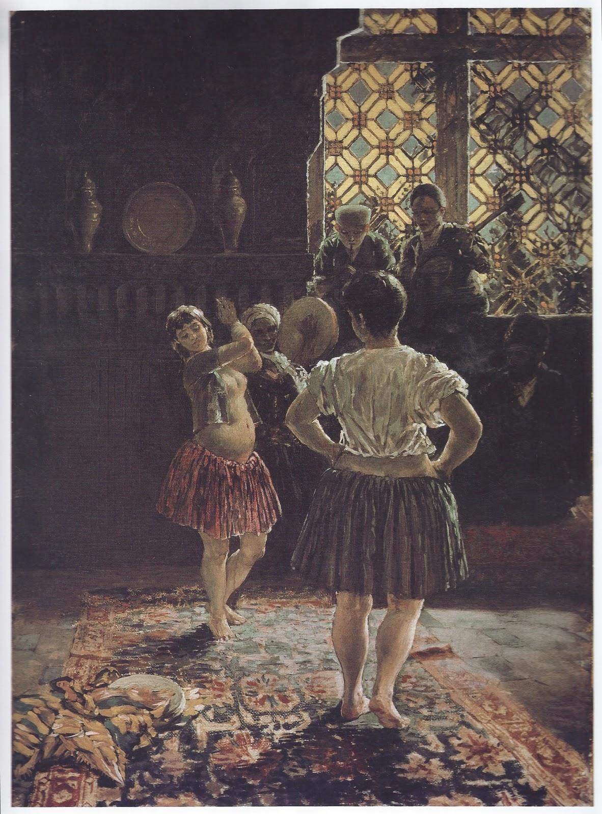 В гареме 1887