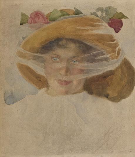 Женский портрет 1913