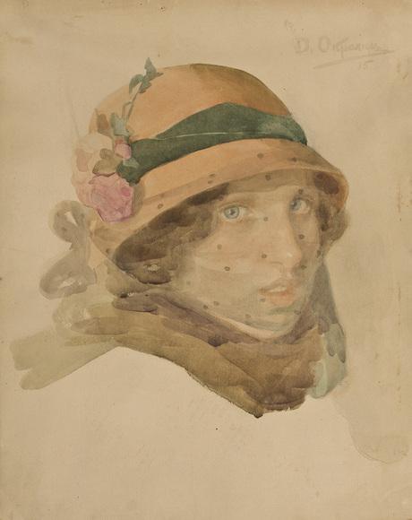 Женский портрет 1915