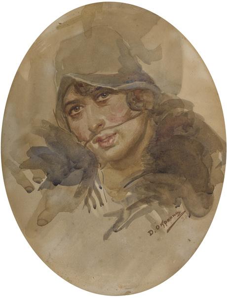 Женский портрет 1922