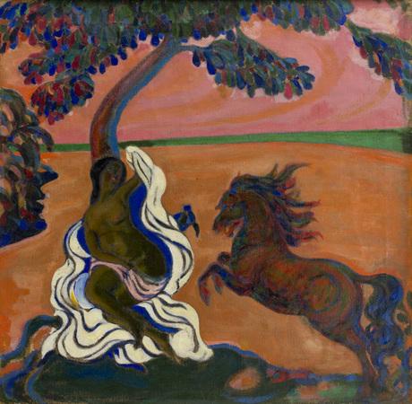 Обнаженная с конем, 1907