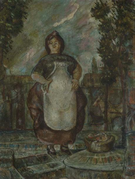 Торгующая женщина, 1909