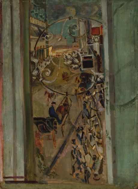 Улица Тверская, 1914