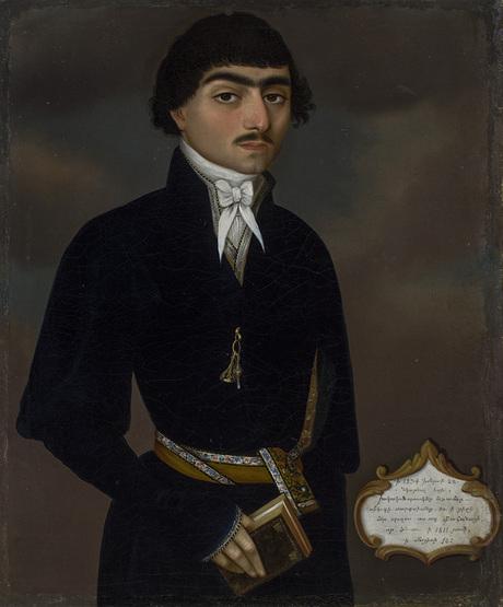 Портрет дьякона Аствацатура Саркисяна 1834