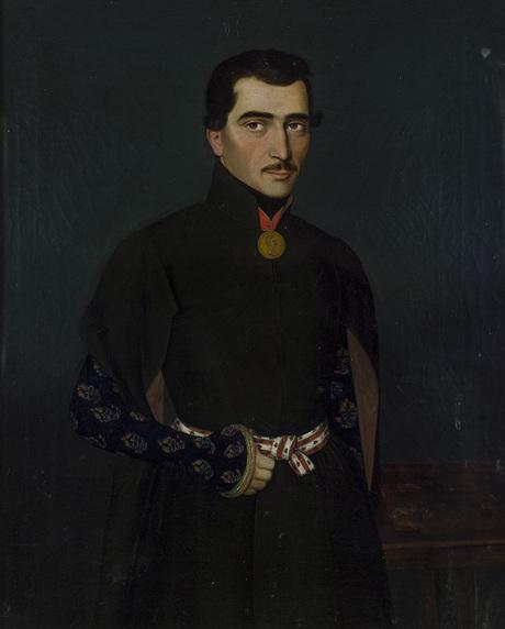 Портрет Симона Пугиняна 1840-50
