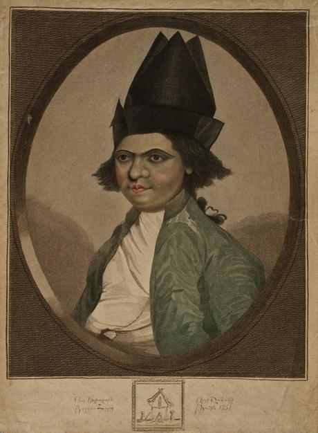 Портрет Шаамира, сына Егиазара  Շահամիրի որդի Եղիազարի դիմանկարը