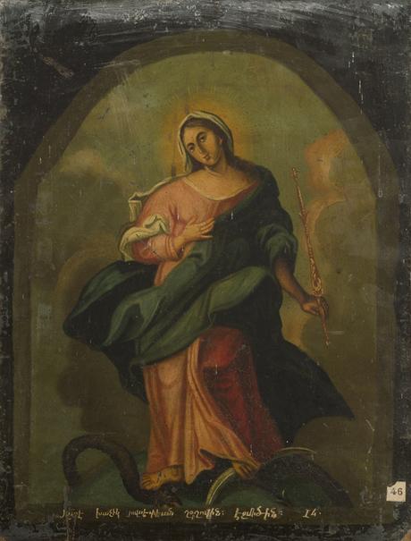 Святая дева (неизвестн)