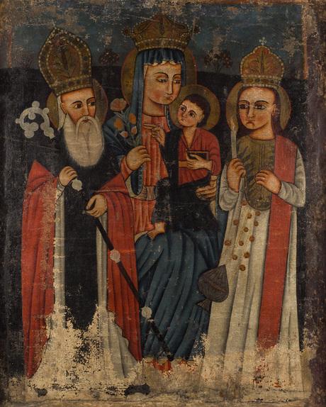 Богоматерь с Григорием Просветителем и святым Степаносом