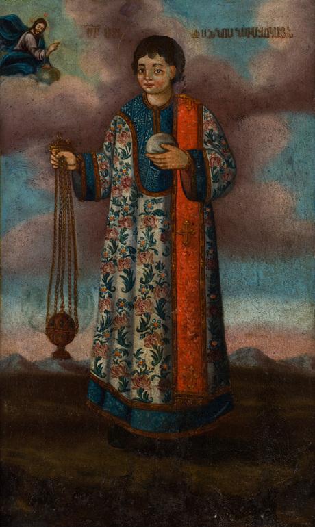 Святой Стеанос Исповедник