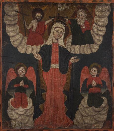 Коронация Богоматери