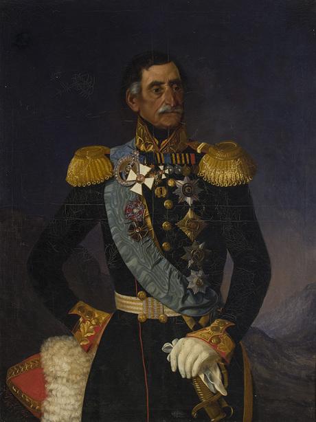 Князь В. Бебутов
