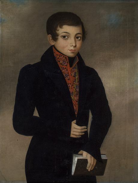 Портрет юного Акимяна