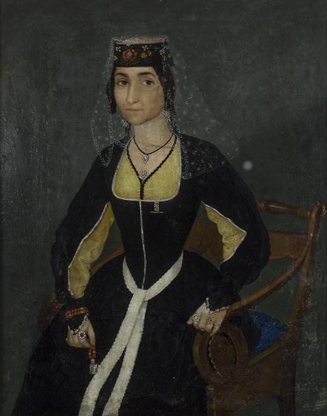 Портрет супруги художника