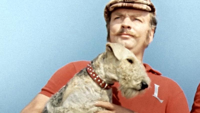 """Михаил Державин в ленте """"Трое в лодке, не считая собаки"""""""