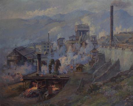 Алаверди, Индустриальный пейзаж 1949.jpg
