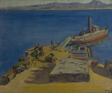 Пристань на Севане 1926.jpg