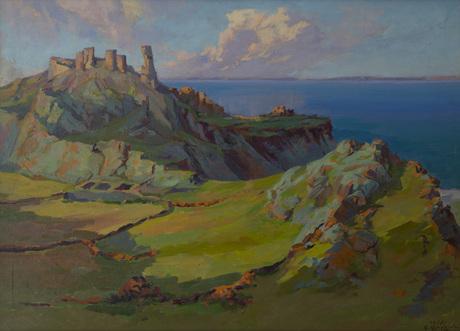 Руины средневековой крепости 1958.jpg