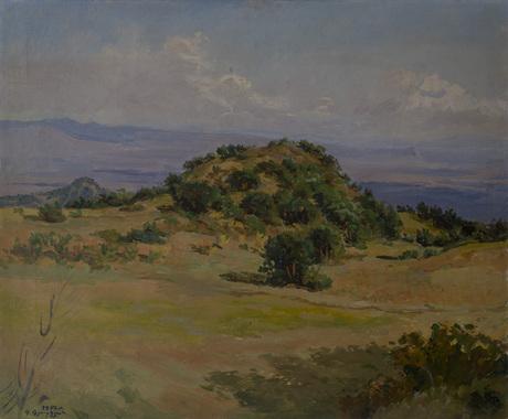 Холм в Кошбулаге 1950.jpg