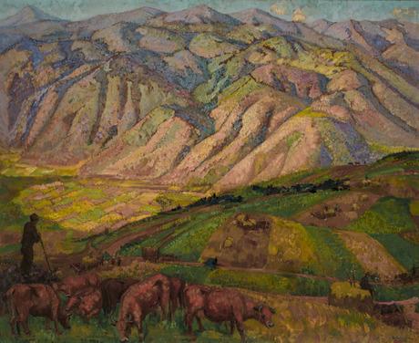 Цахкадзорский пейзаж 1925.jpg