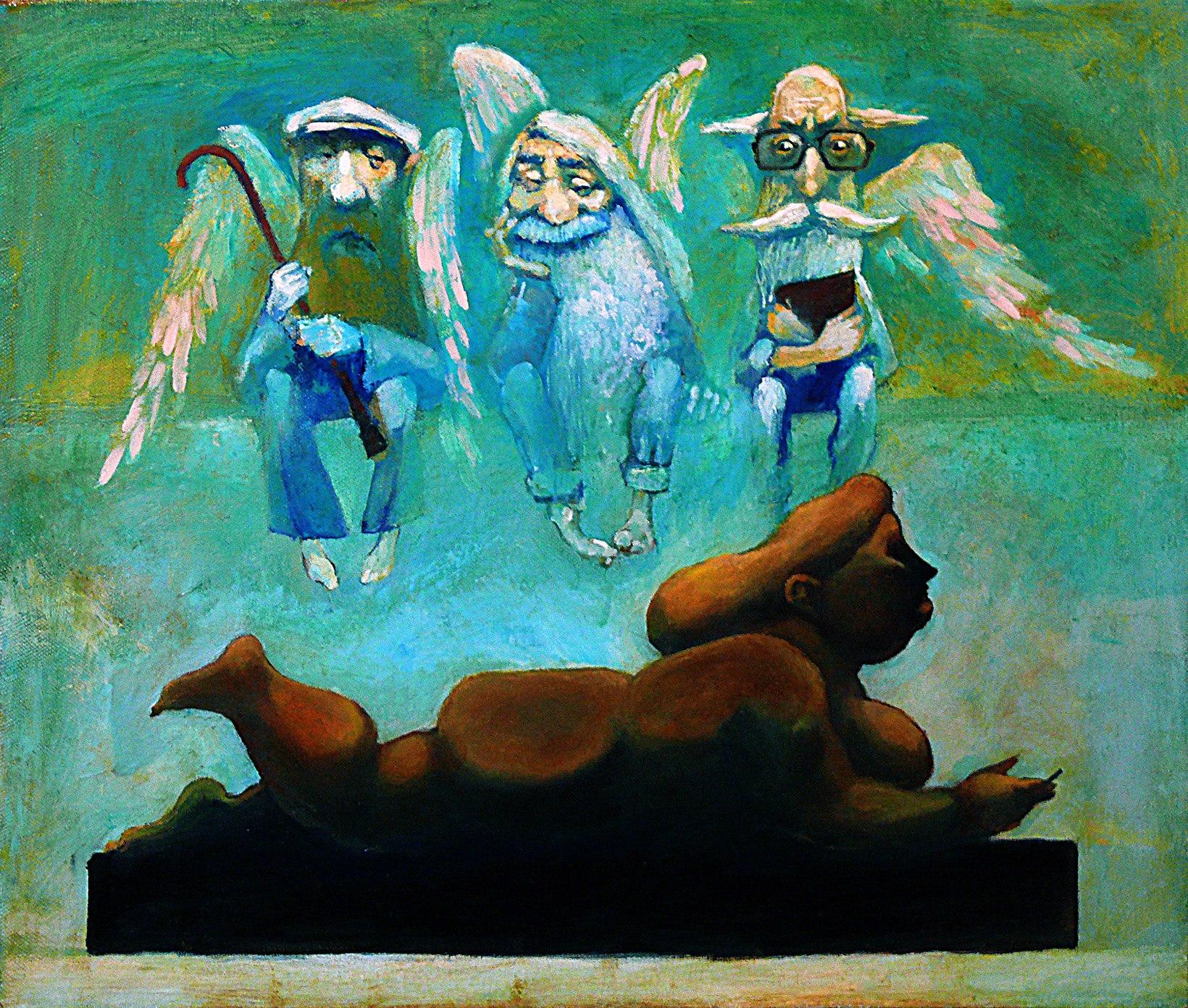 Каскад, ереванские архангелы и Ботеро, 2016