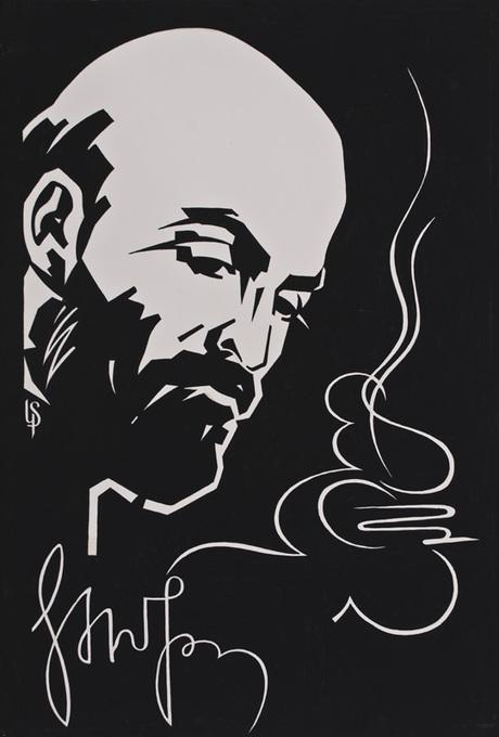 """Карапет Тиратурян """"Портрет Комитаса"""" 1969"""