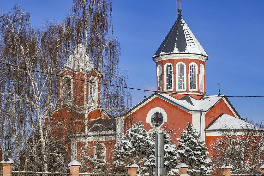 Армянская церковь Армавира. Фото Игоря Сикорского. fotokto.ru