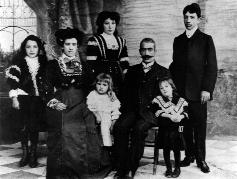 Армянская семья из Бостона, 1908 год