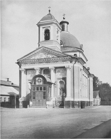 Крестовоздвиженская церковь, 1883 год