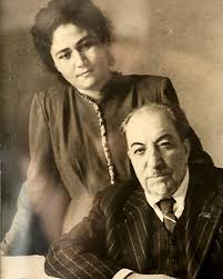 С писателем Аветиком Исаакяном