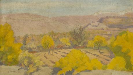 Осень в садах Армении, 1928