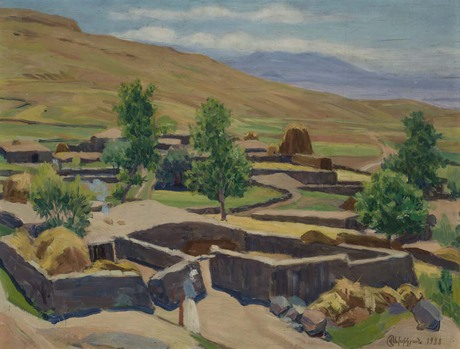 Село Аван близ Арагаца, 1928