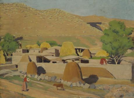 Село Аван, Арагац, 1928
