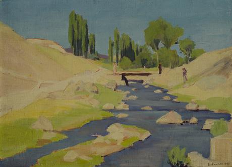 Речка Гетар у Авана, 1928