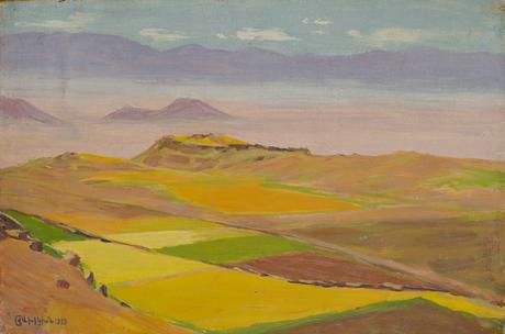 Арагац, поля, 1927