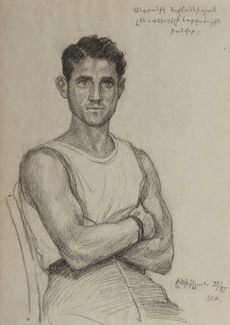 Рабочий-ударник Ованнисяе, 1931