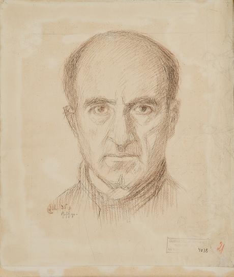 Портрет мужчины, 1935