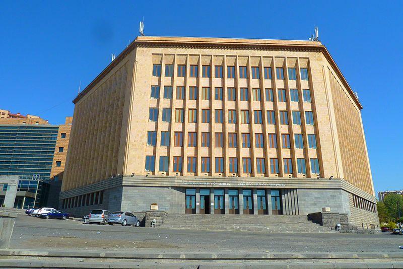 Дом политпросвещения (сейчас — главный корпус Американского университета Армении) | wikipedia.org