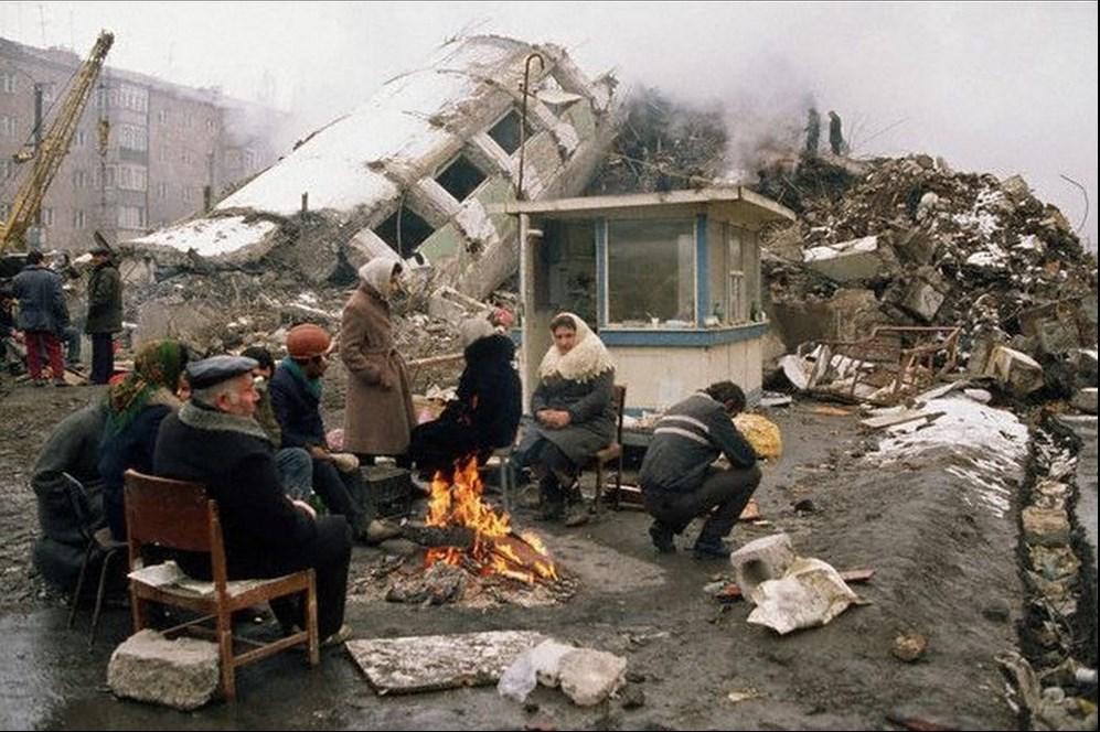 Спитакское землетрясение имело разрушительные последствия для всей Армении ©Peter Turnley