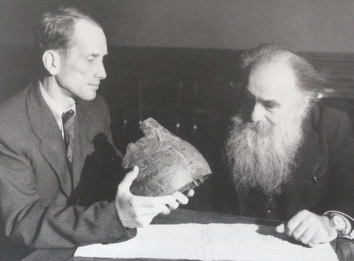 Борис Пиотровский и Иосиф Орбели (1952)
