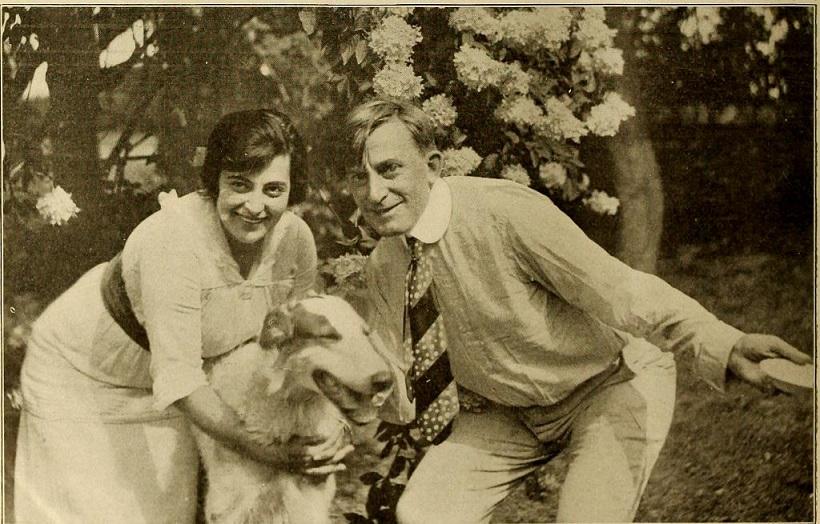 Флора Забел и Рэймонд Хичкок, 1913. Библиотека Конгресса