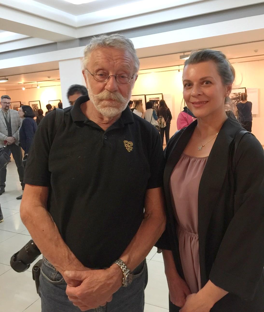 Юрий Рост и Елена Шуваева-Петросян