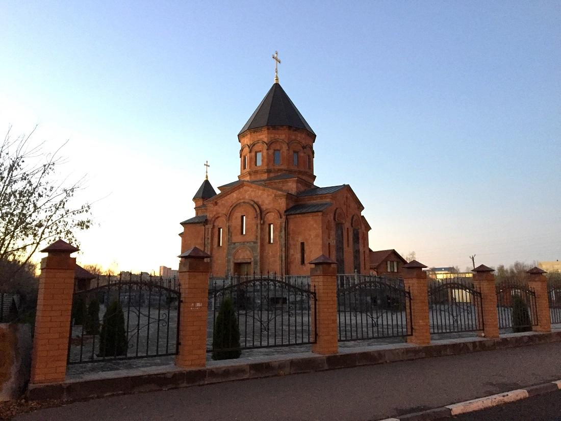 Церковь Сурб Арутюн в Твери ©Елена Шуваева-Петросян
