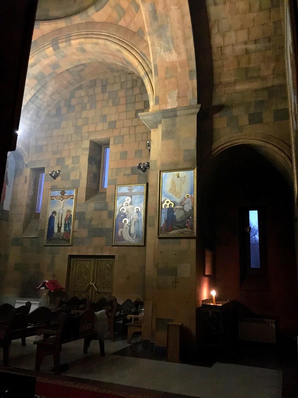 Интерьер церкви Сурб Арутюн ©Елена Шуваева-Петросян