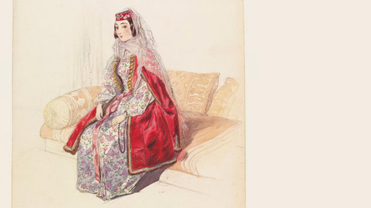 Одежда - Армянская народная одежда, пройдя многовековой путь развития, уже в начале XIX века была устойчивым комплексом.