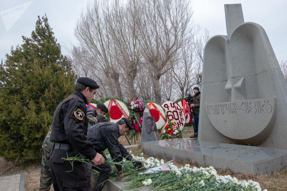 Торжественные мероприятия по случаю 60-летия Вазгена Саркисяна ©Sputnik / Asatur Yesayants | armeniasputnik.am