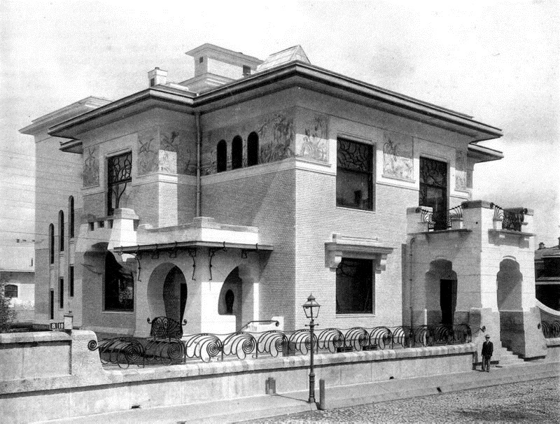 Особняк Рябушинского. Фотография начала XX века ǁ wikipedia.org