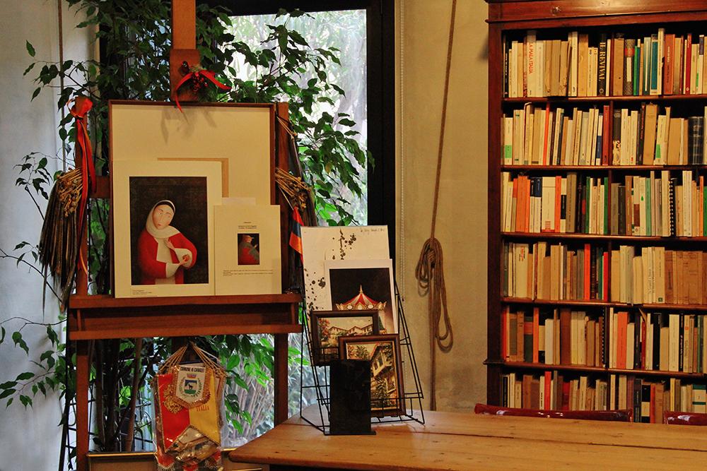 Студия Антонии Арслан в Падуе. Фото © Татьяна Тростникова